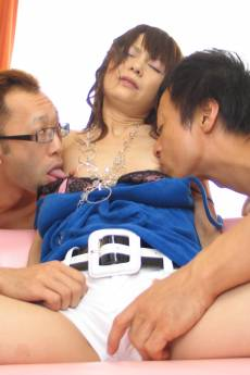 Delightful Anna Watanabe has a thing for sex toys