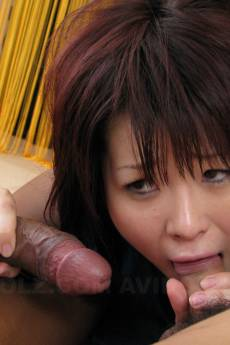 Insatiable brunette, Hina Kawamura is having a threesome