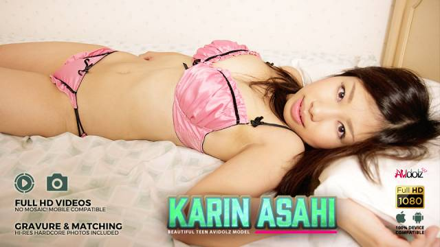 Spicy Karin Asahi sucks two dicks same time