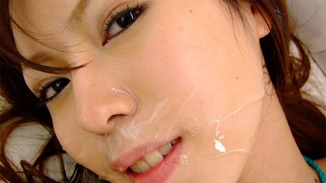 Rino Tokiwa is fucked after masturbating in front of men