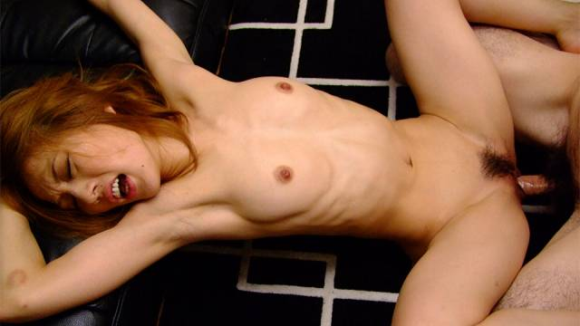 Naughty Sally Yoshino loves getting cum on her