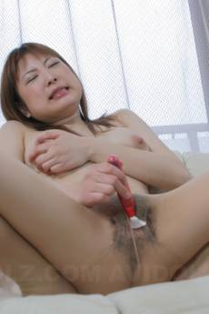 Runna Sakai has asshole and pussy fucked with fingers